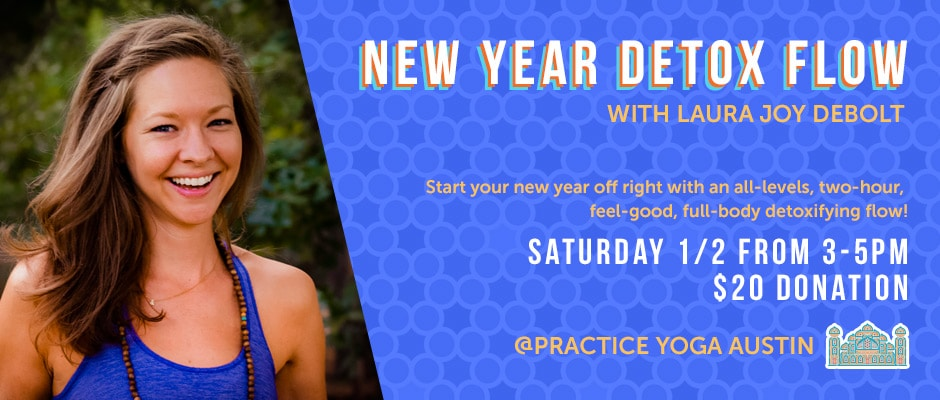 New Year Detox Flow with Laura Joy DeBolt